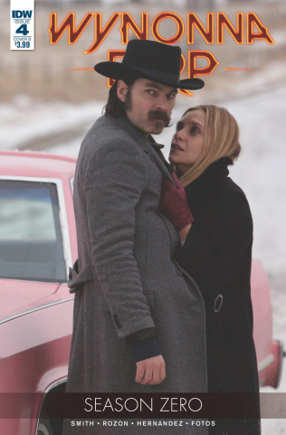 Wynonna Earp, Season Zero #4 (Photo Cover)