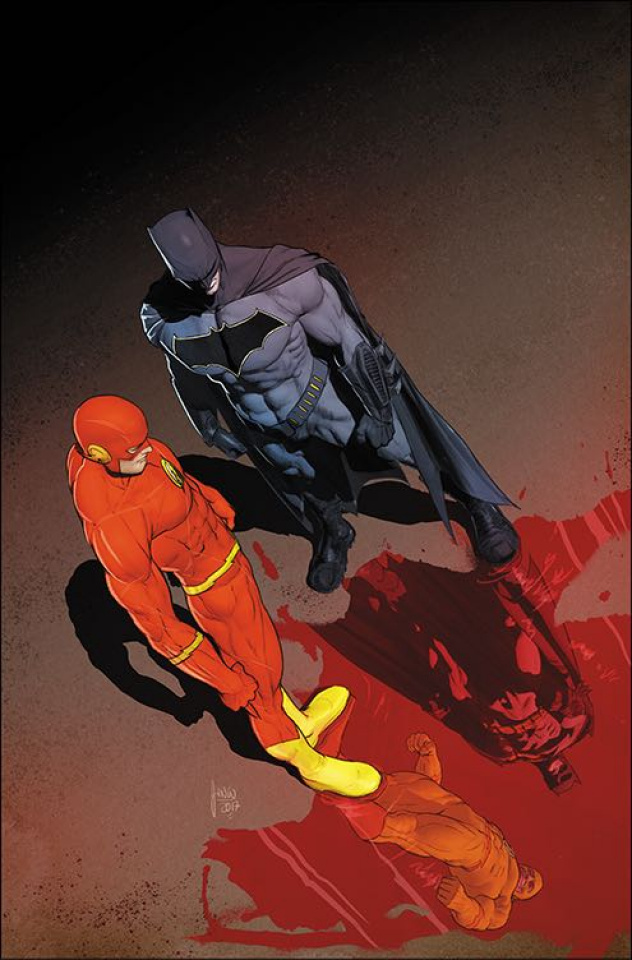 The Flash #21 (International Edition: The Button)