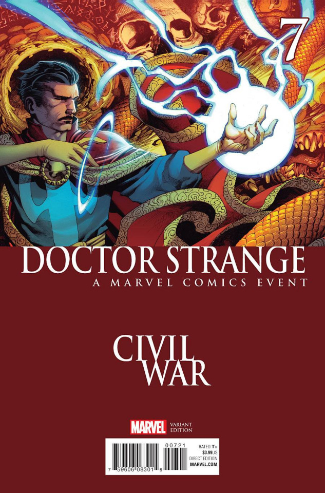 Doctor Strange #7 (Stevens Civil War Cover)