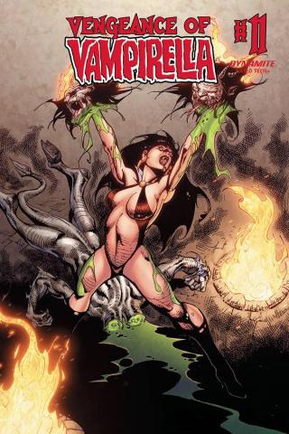 Vengeance of Vampirella #11 (Castro Bonus Cover)