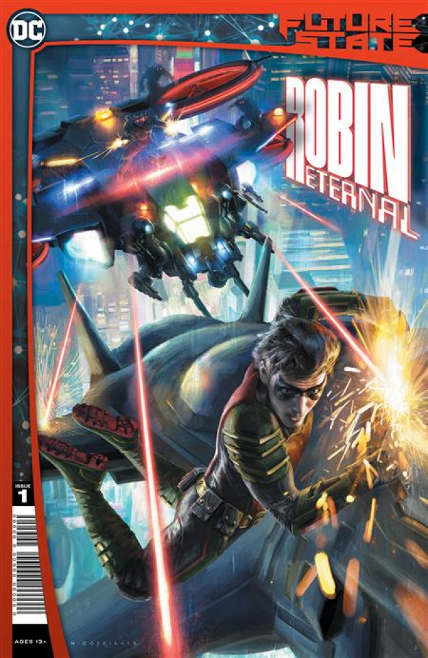 Future State: Robin Eternal #1 (Emanuela Lupacchino & Irvin Rodriguez Cover)