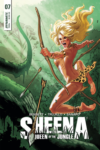 Sheena #7 (Galindo Cover)