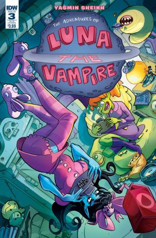 Luna: The Vampire #3 (Subscription Cover)