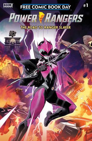 Power Rangers: The Road to Ranger Slayer