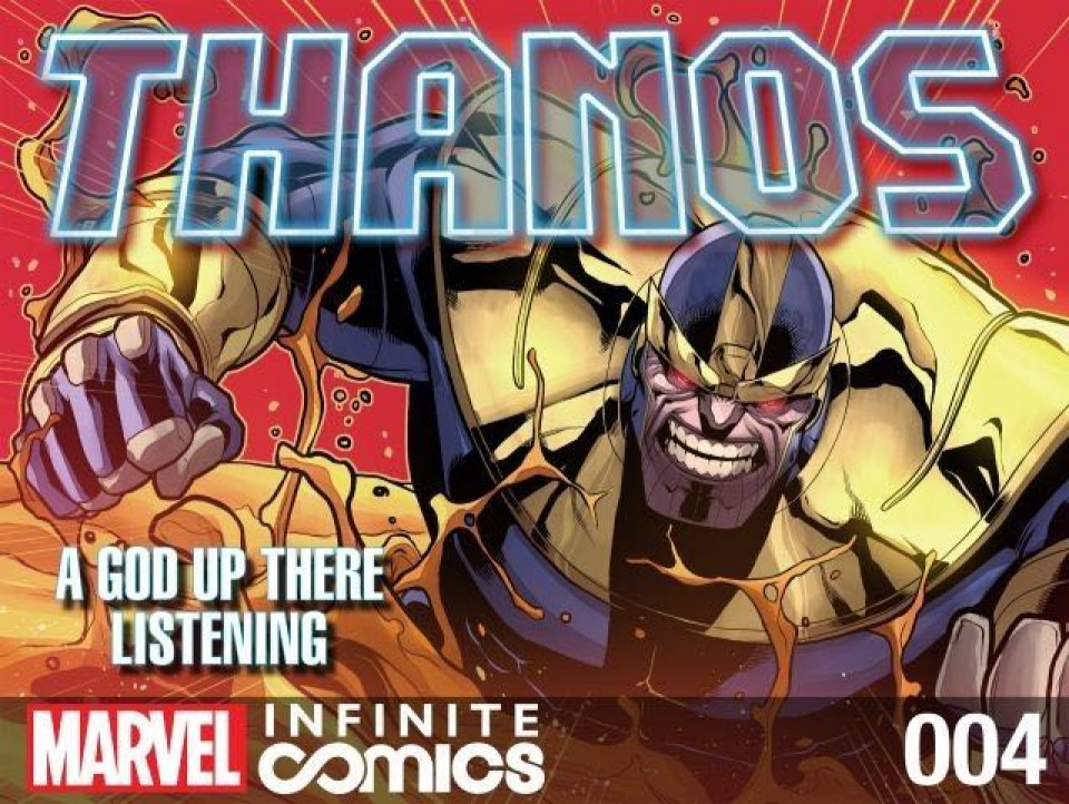 Thanos: A God Up There Listening #4