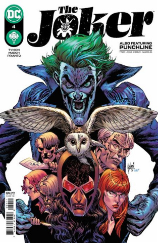 The Joker #4 (Guillem March Cover)