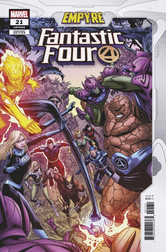 Fantastic Four #21 (Zircher Confrontation Cover)