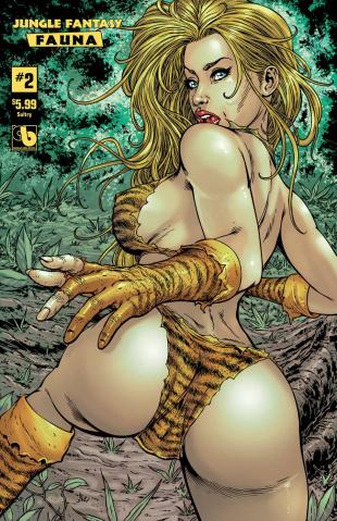 Jungle Fantasy: Fauna #2 (Sultry Cover)
