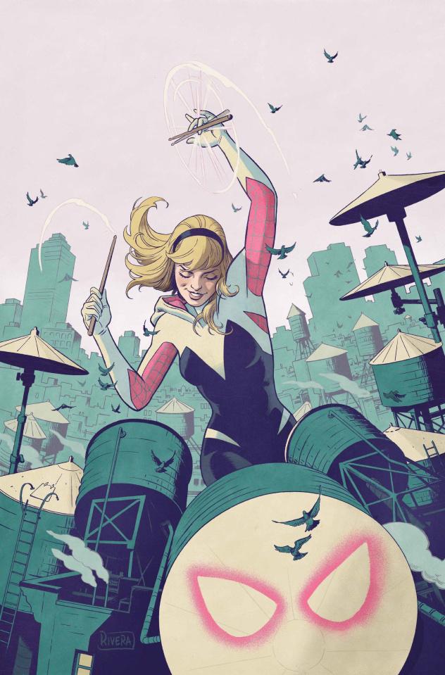 Spider-Gwen: Ghost Spider #1 (Rivera Cover)