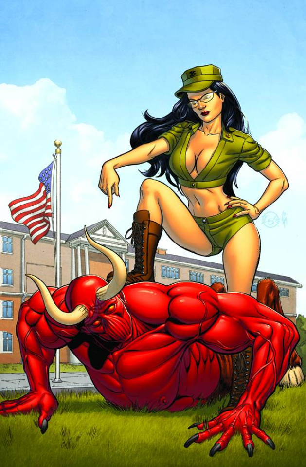 Grimm Fairy Tales: Wounded Warriors Special (Igle Cover)