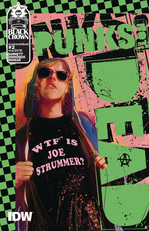 Punk's Not Dead #2 (Simmonds Cover)