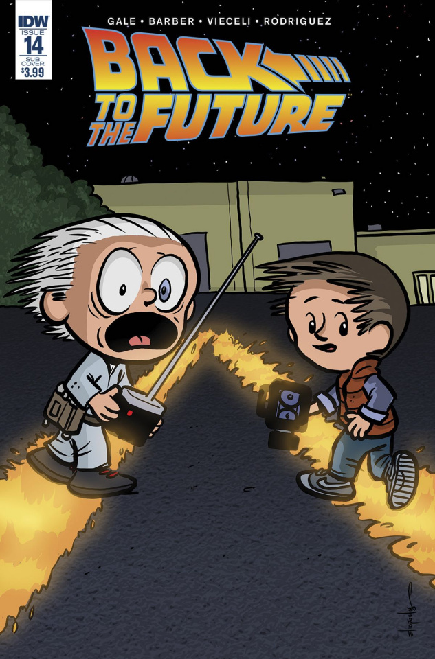 Back to the Future #15 (Subscription Cover)
