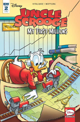 Uncle Scrooge: My First Millions #2 (10 Copy Gerva Cover)
