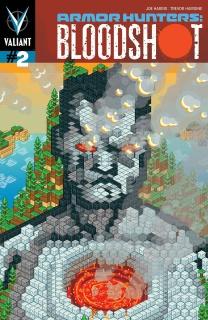Armor Hunters: Bloodshot #2 (Valiantcraft Cover)