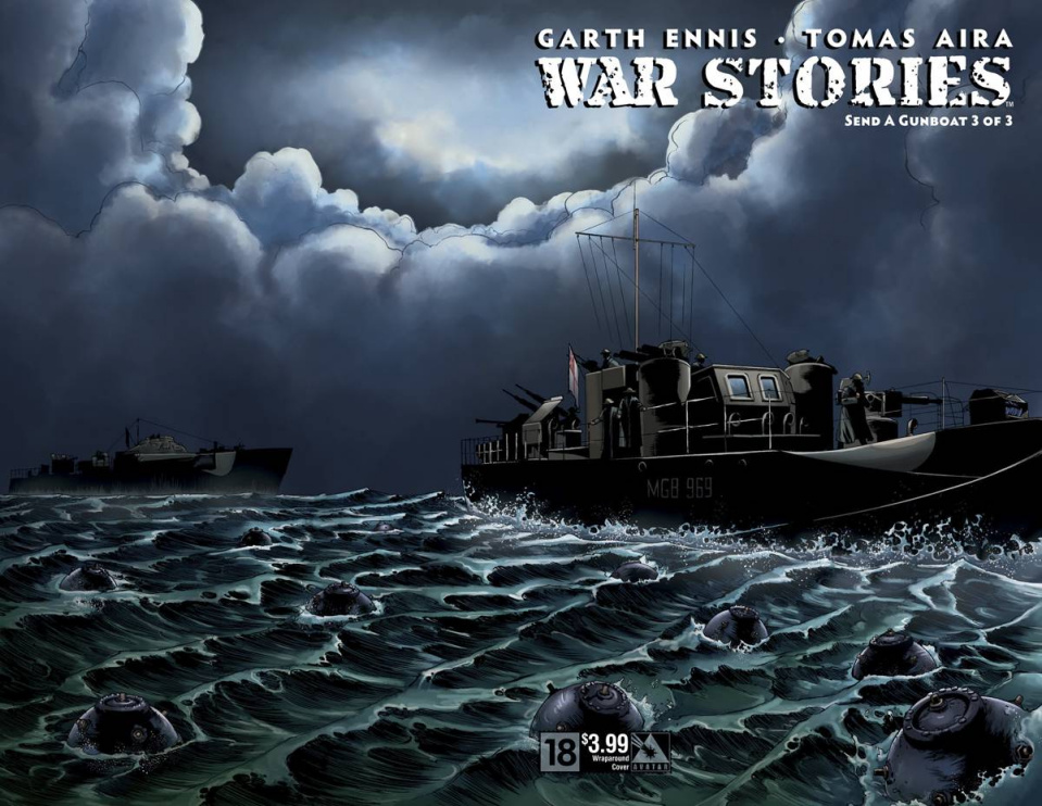 War Stories #18 (Wrap Cover)