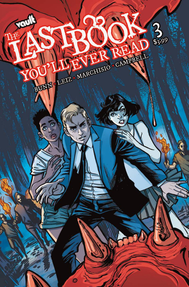 The Last Book You'll Ever Read #3 (Leiz Cover)