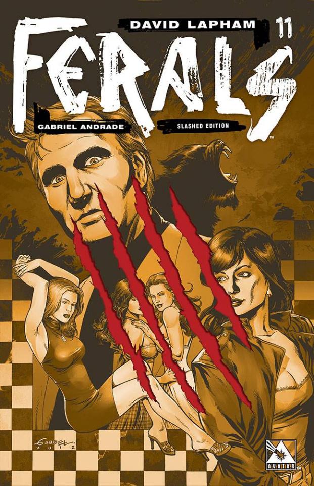 Ferals #11 (Slashed Cover)