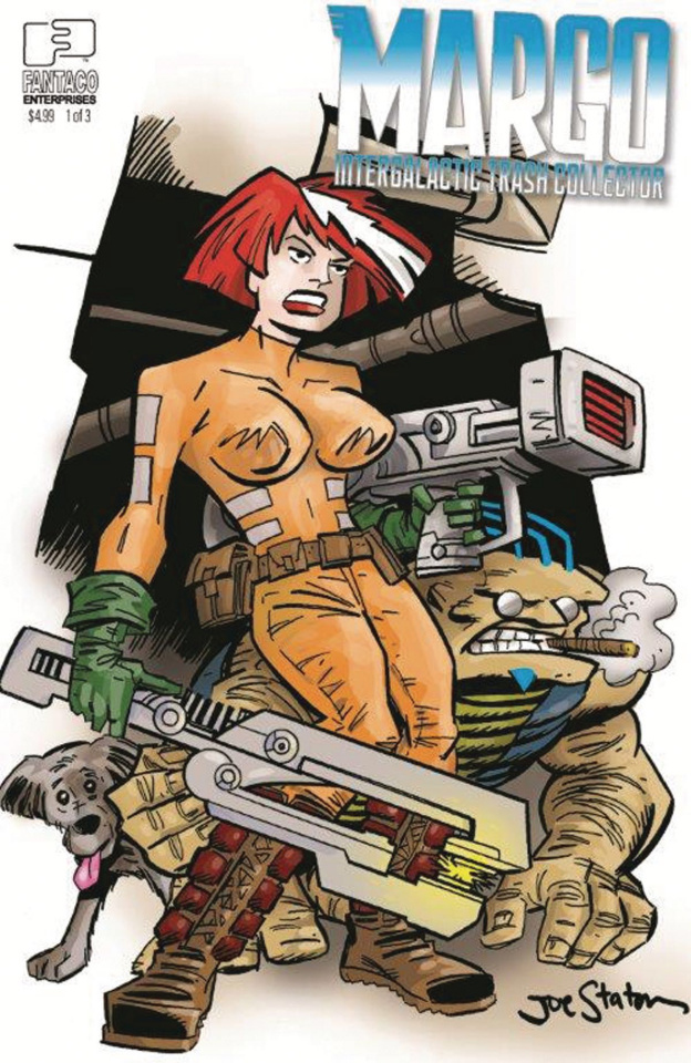 Margo: Intergalactic Trash Collector #1 (Staton Cover)
