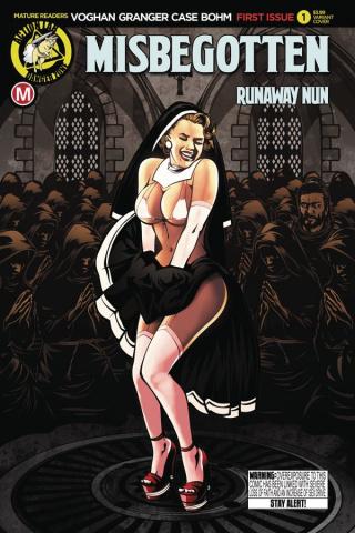 Misbegotten Runaway Nun #1 (Case Cover)