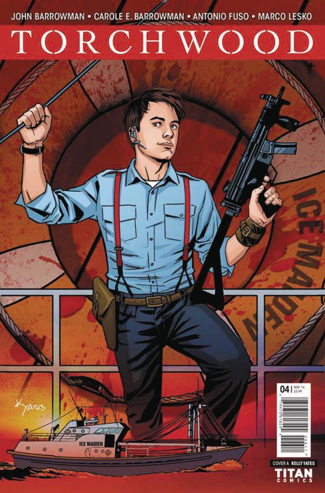 Torchwood #4 (Yates Cover)