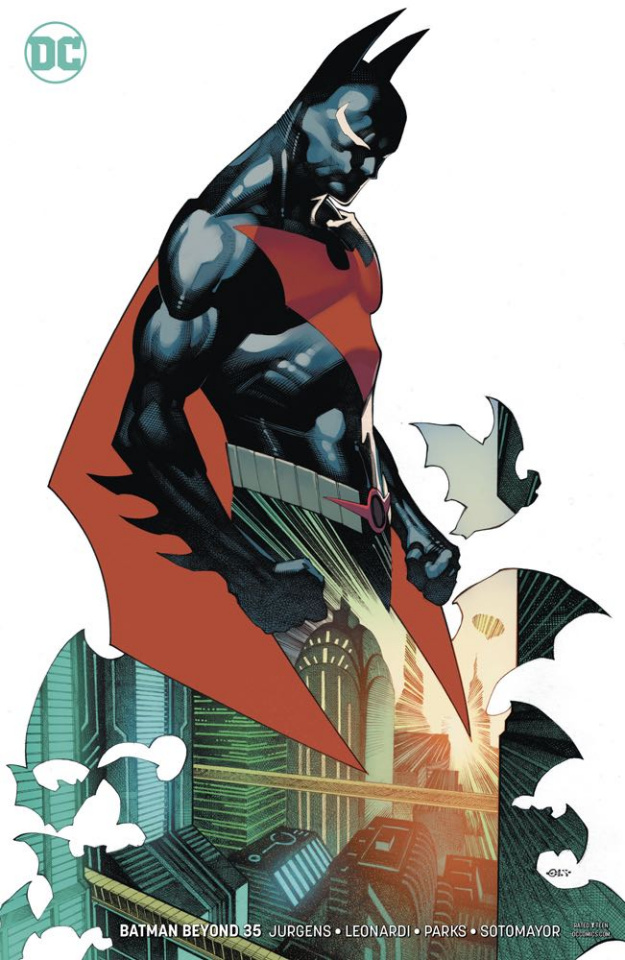 Batman Beyond #35 (Variant Cover)