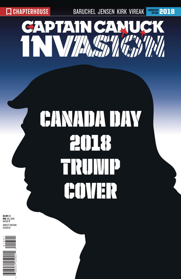 Invasion Character File: Canada Day (Trump Cover)