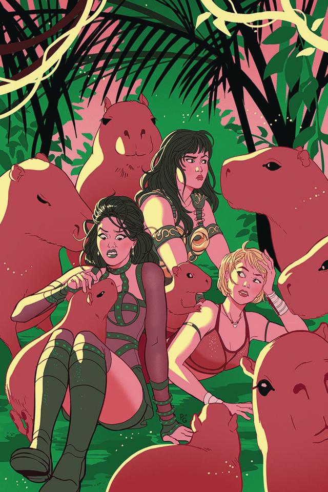 Xena: Warrior Princess #3 (30 Copy Ganucheau Virgin Cover)