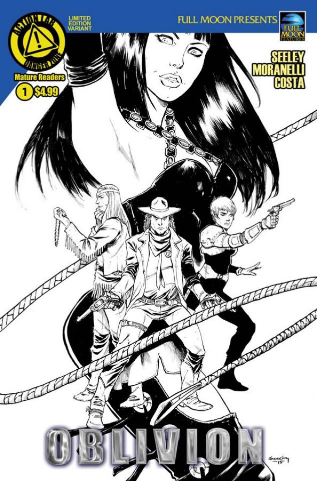 Oblivion #1 (Seeley Sketch Cover)