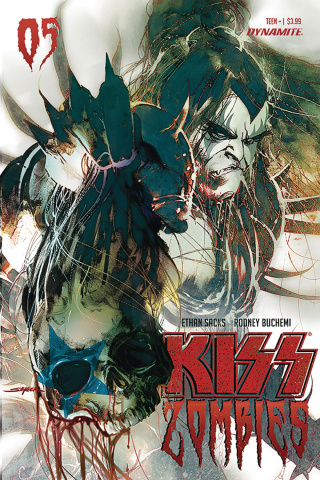 KISS: Zombies #5 (Sayger Cover)