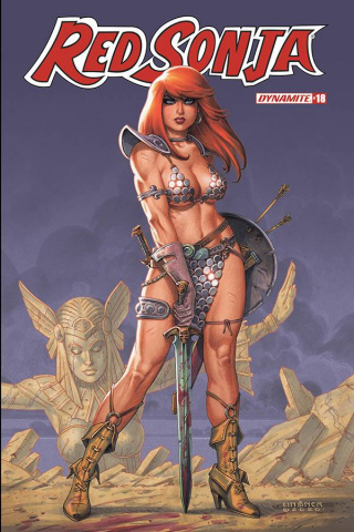 Red Sonja #18 (Linsner Cover)
