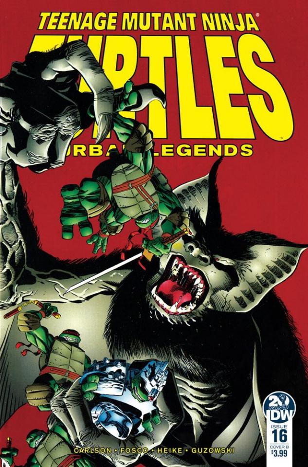 Teenage Mutant Ninja Turtles: Urban Legends #16 (Fosco & Larsen Cover)
