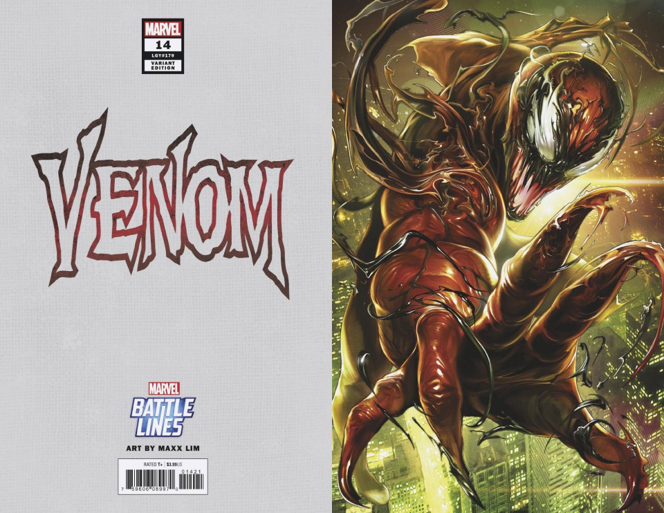 Venom #14 (Maxx Lim Marvel Battle Lines Cover)