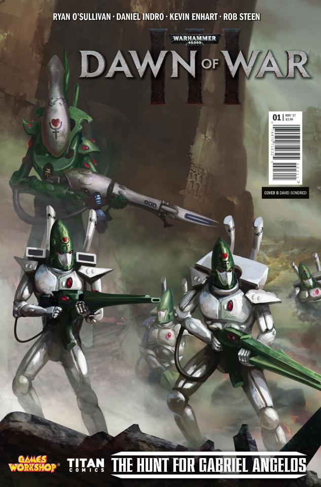 Warhammer 40,000: Dawn of War III #1 (Sondered Cover)