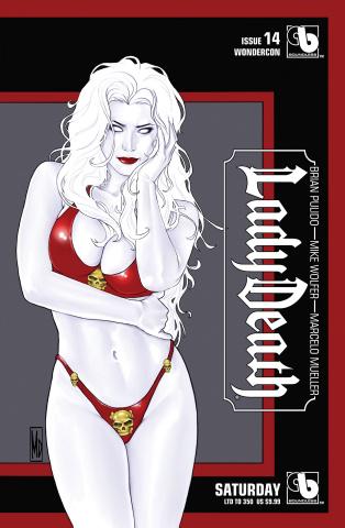 Lady Death #14 (Wondercon Saturday Cover)