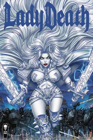 Lady Death: Treacherous Infamy #1 (Simonson Foil Cover)