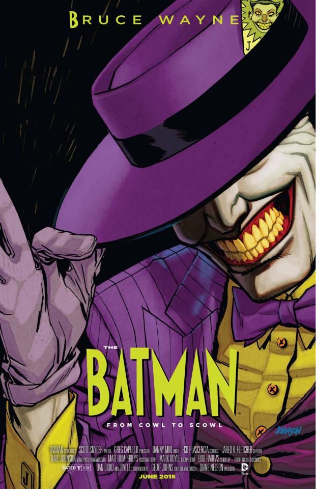 Batman #40 (Movie Poster Cover)