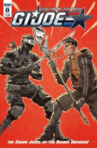 G.I. Joe #8 (Conley Cover)
