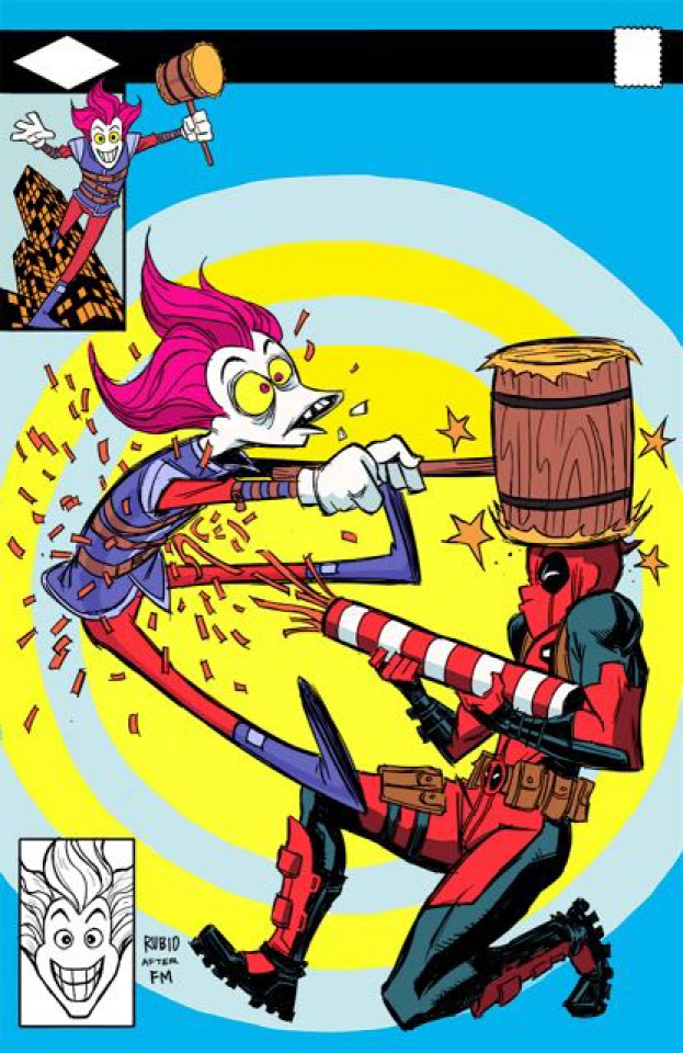 Slapstick! #1 (Divided We Stand Cover)
