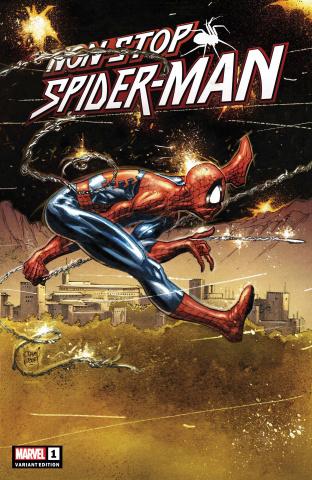 Non-Stop Spider-Man #1 (Kubert Cover)
