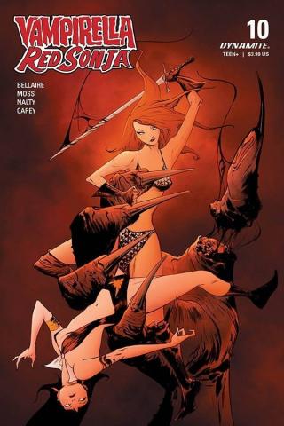 Vampirella / Red Sonja #10 (Lee Cover)