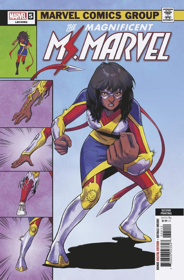 The Magnificent Ms. Marvel #5 (Jung 2nd Printing)