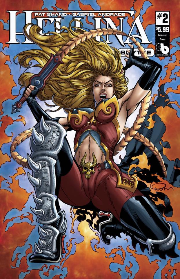 Hellina: Scythe #2 (Enforcer Cover)