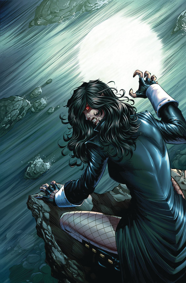 Grimm Fairy Tales: Van Helsing vs. The Werewolf #2 (Metcalf Cover)