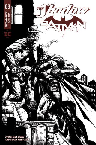 The Shadow / Batman #3 (30 Copy Desjardins Cover)