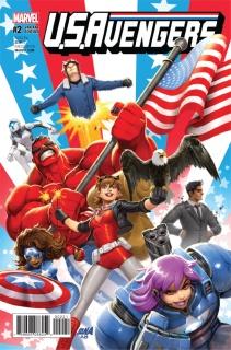 U.S.Avengers #2 (Nakayama Cover)
