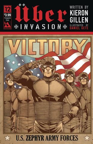 Über: Invasion #12 (Propaganda Poster Cover)