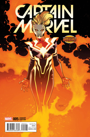 Captain Marvel #5 (AoA Cover)