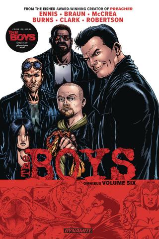The Boys Vol. 6 (Robertson Signed Omnibus)