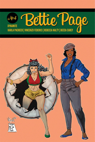 Bettie Page #4 (7 Copy Federici Homage Cover)