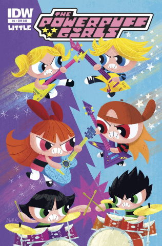 The Powerpuff Girls #9 (Subscription Cover)